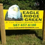 Eagle Ridge Green sign